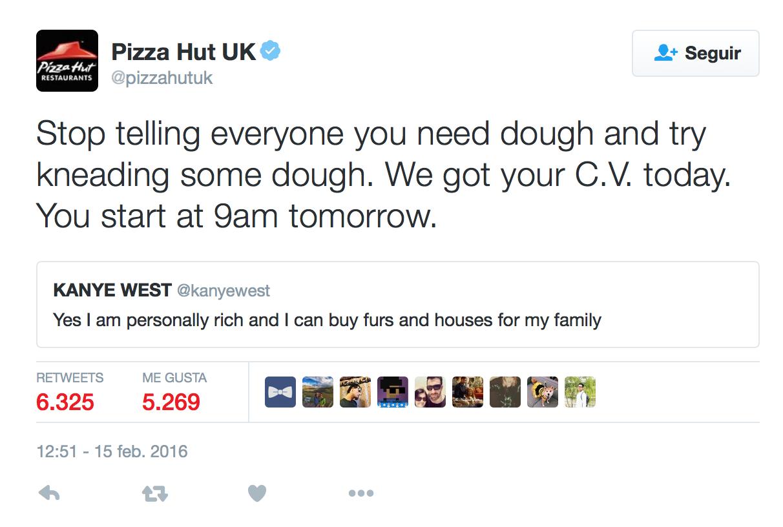 pizza kanye