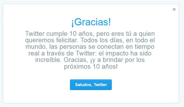 10 anos de twitter
