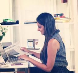 Aishwarya Ayer, directora de comunicación de Whisper.