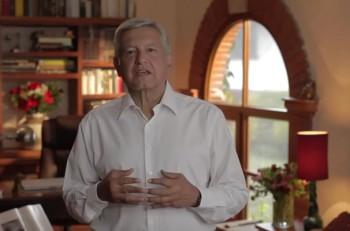 Aspecto del nuevo spot político de AMLO. Imagen: YouTube.