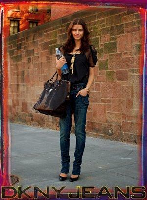 Imagen de la campaña que llevó a cabo el bloguero Scott Schuman (The Sartorialist) para DKNY.