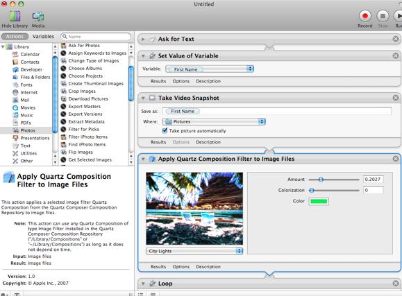 Sitio del día: Automator Actions, automatización de tu Mac