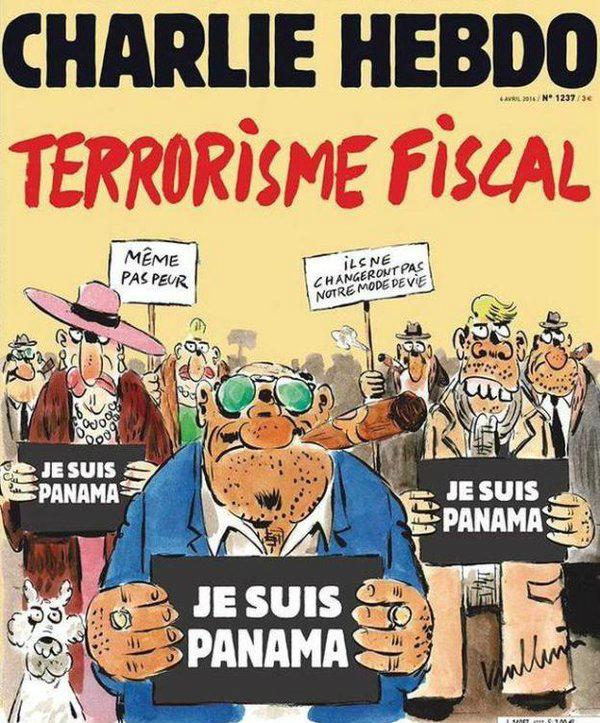 """La portada de la revista francesa y su titular: """"Terrorismo fiscal""""."""