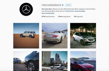 mercedes-benz instagram