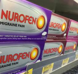 Packaging de Nurofen. Imagen: Twitter.