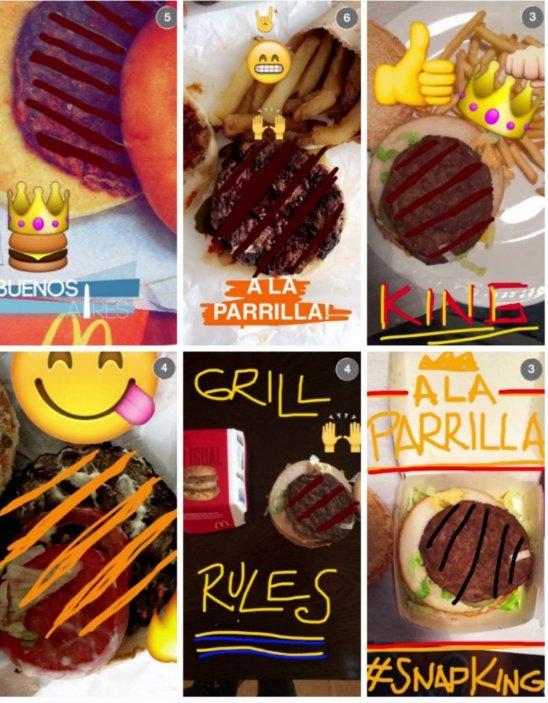 Campaña de Burger King en Snapchat invita a ponerle el
