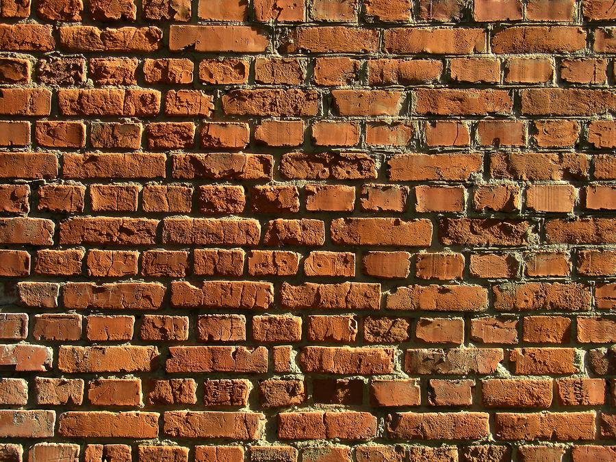La pared de ladrillos un nuevo efecto ptico que s vale - Dibujos de vinilo para paredes ...