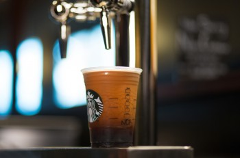 Starbucks Nitro Cold Brew photographed at the Olive Way Starbucks store in Seattle. Photographed on Tuesday, May 24, 2016. (Joshua Trujillo, Starbucks)