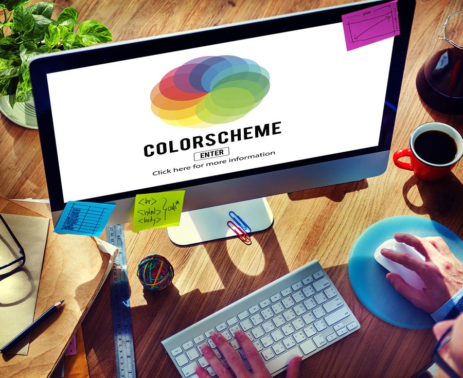 Color Web Creativity Color Codes Color Scheme Concept