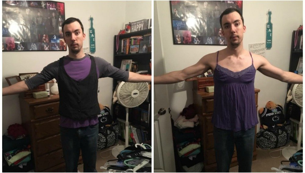 3c28ab55f58 La crítica de este hombre a las tallas XL de mujer se ha convertido en  viral | Revista Merca2.0