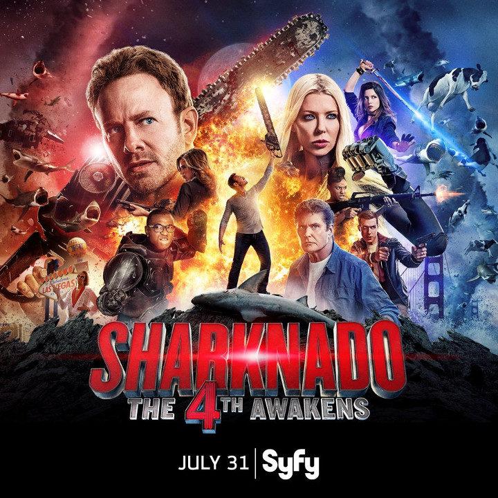 La nueva película de Sharknado se anuncia al más puro estilo