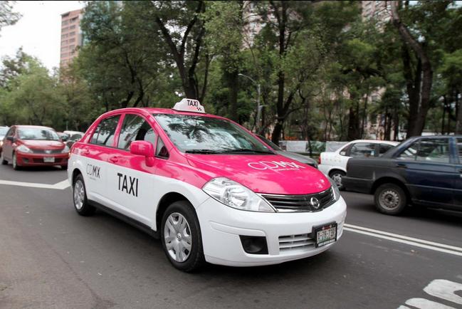 Resultado de imagen para taxi y uber cdmx