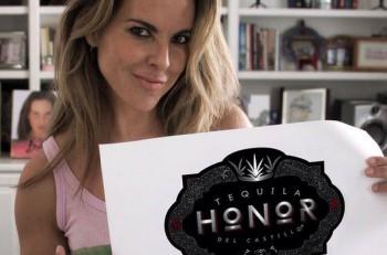 Kate del Castillo/Tequila Honor. Imagen: Twitter.