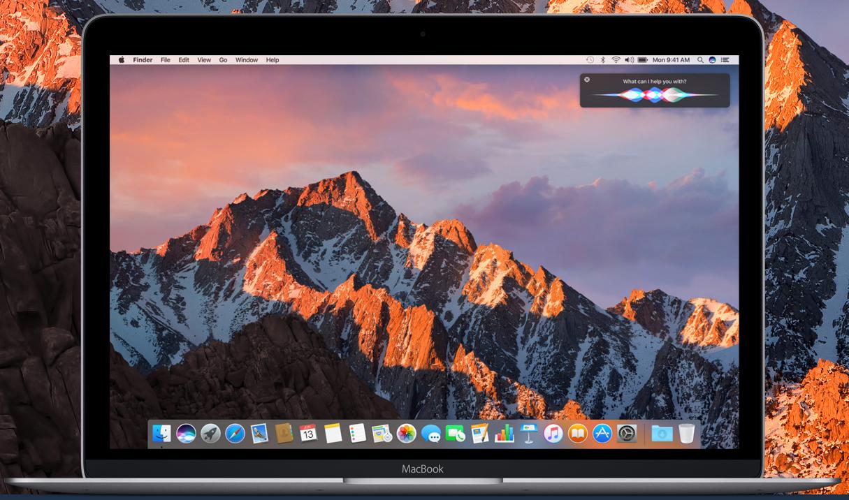 Apple-Siri-macOS High Sierra