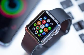 PRAGUE, CZECH REPUBLIC - June 22, 2015: New wearable Apple Watch