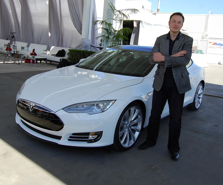 Elon Musk Tesla-marketing