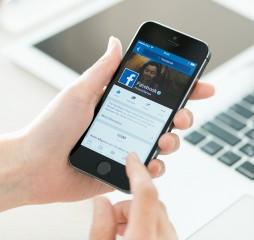 Facebook Profile On Apple Iphone 5S