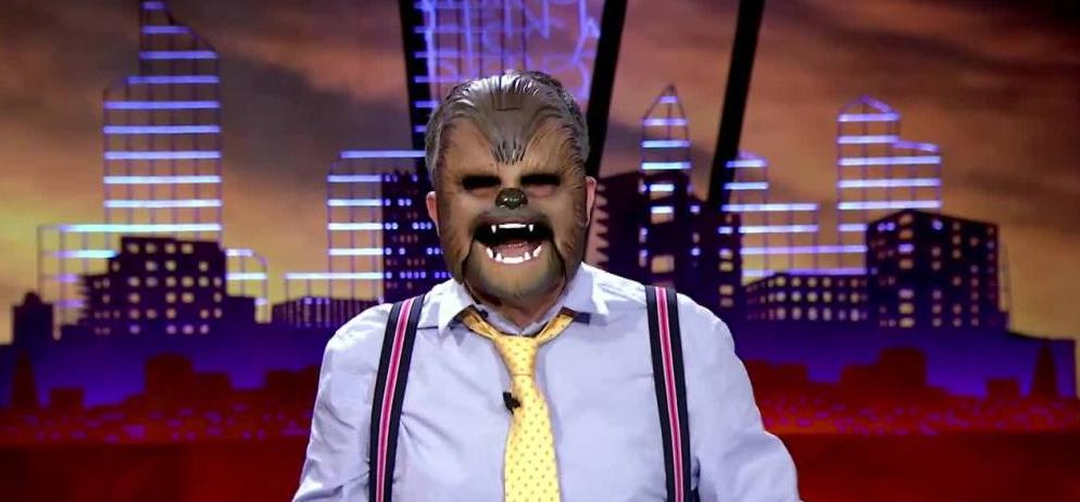 mascara chewbacca tv españa
