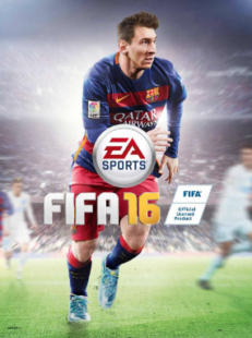Lionel Messi fue la portada de FIFA 16.
