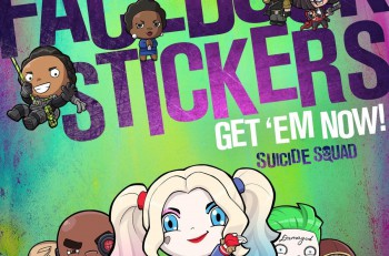 Suicide Squad_Facebook_Stickers