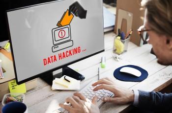Hacker Spyware Cybercrime Phishing Fraud Concept
