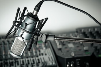 Radio Recording Studio Studio Microphone Sound Audio Equipment The Media