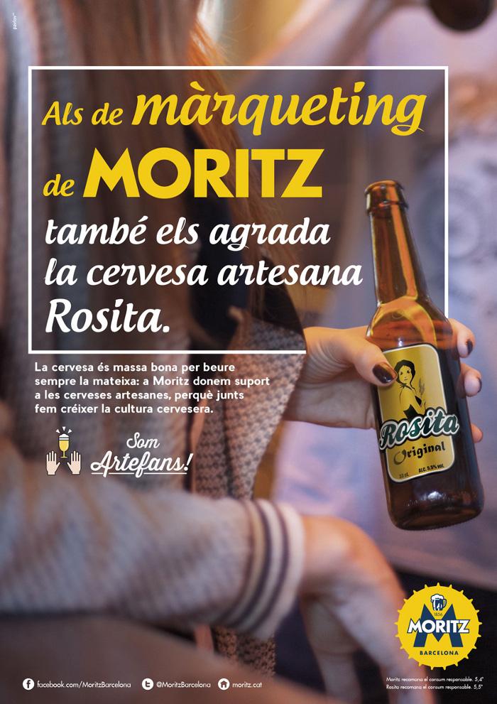 cerveza moritz campaña grafica 2