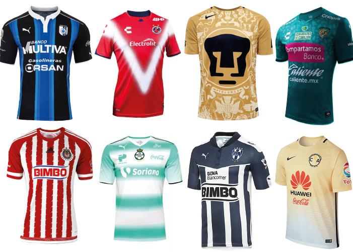 6c444ace728ee Las playeras más caras del futbol mexicano