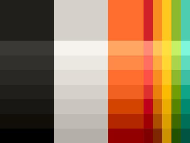 paleta de colores de mastercard 2016