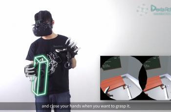 Exoesqueleto VR