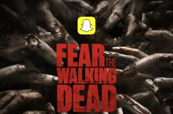 fear the walking dead + snapchat