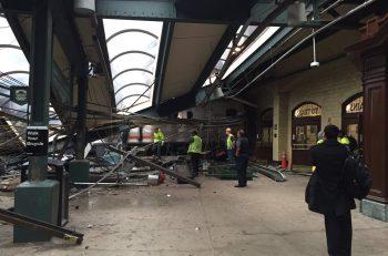 Un choque de tren en Nueva Jersey dejó más de 100 heridos
