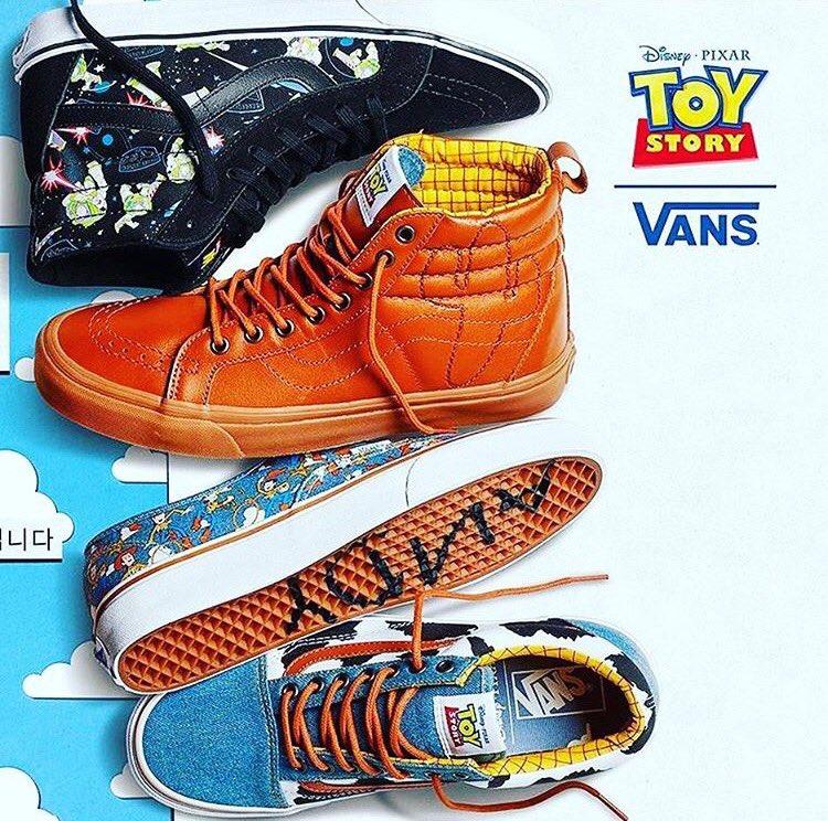 Vans Toy Story España