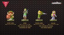 Zelda Amiibos