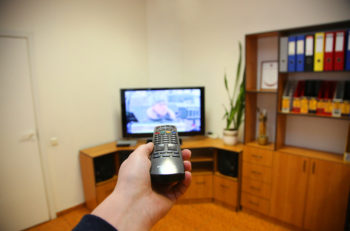 Television Remote Control Changes Channels