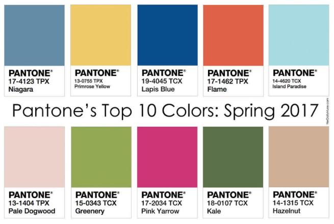 88651771d73b16 Cuáles serán los 10 colores Pantone de moda en la próxima primavera?
