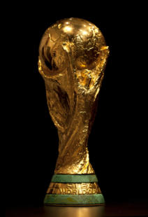 BARCELONA - JAN 14: FIFA World Cup trophy exhibed at the museum on January 14, 2011 in Barcelona, Spain