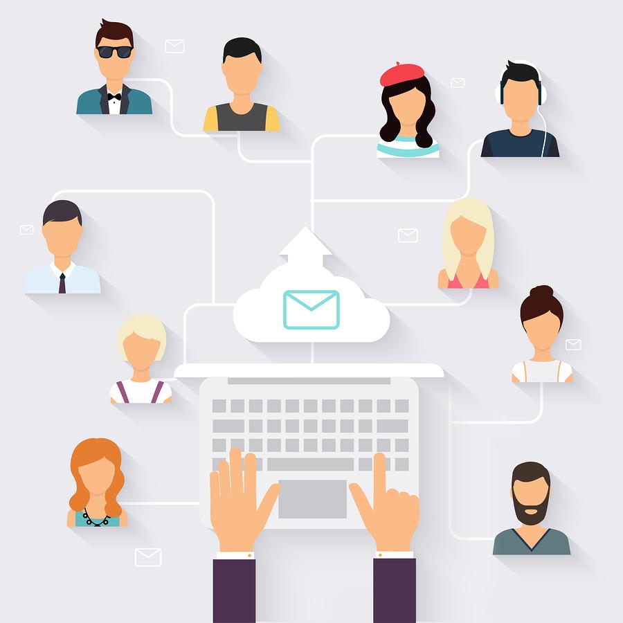 Running Campaign, E-mail marketing-Bigstock