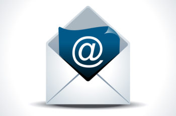 abstract details mail web icon vector illustration