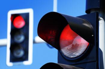 ford semáforo rojo