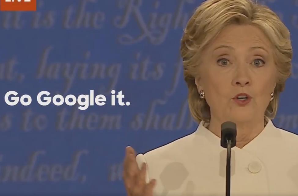 Googlealo La Frase De Clinton Que Se Convirtió En Campaña