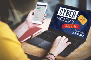 Cyber Monday Sale Discount Clearance Sale Concept