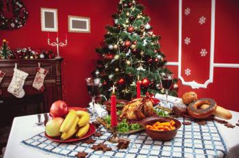 alimentación navidad