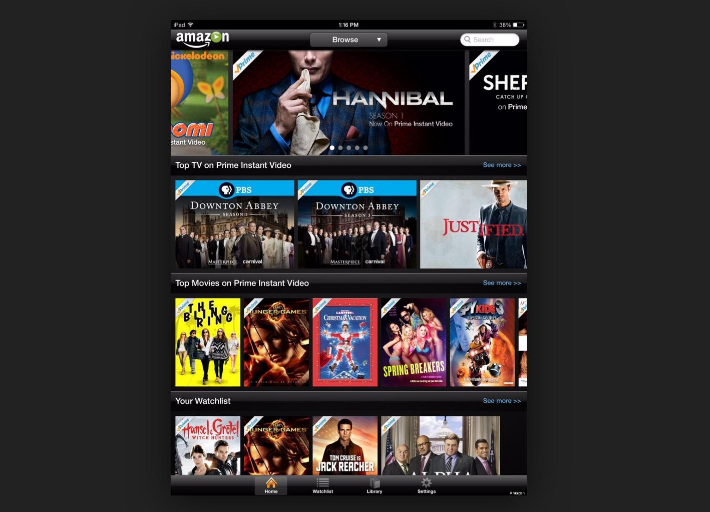 Amazon prime video cartelera españa
