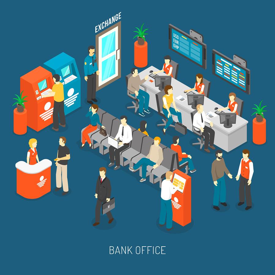 Sucursales bancarias de qué banco son las más visitadas