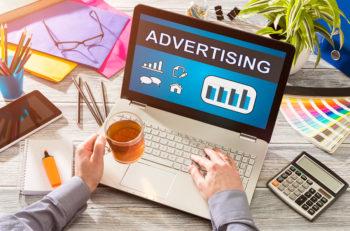 Advertise Advertising Advertisement Branding Commercial - Stock Image
