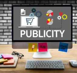 PUBLICITY Online Marketing Advertisement Social Media advertising