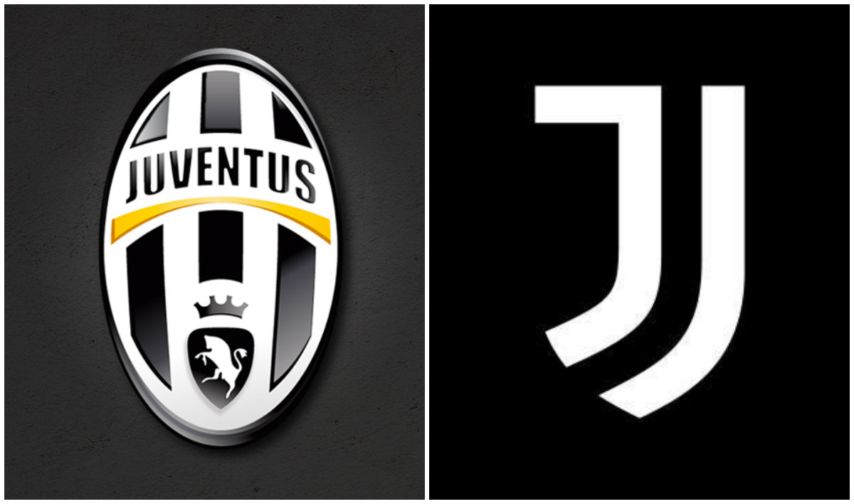 el cambio radical de dise o en el escudo de la juventus. Black Bedroom Furniture Sets. Home Design Ideas