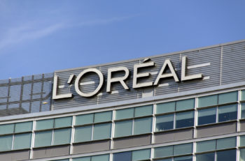 Amsterdam Netherlands-october 11 2015: dutch office of l oreal The L Oreal Group is a French company active in the cosmetics and beauty