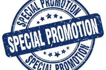 Special Promotion Blue Grunge Round Vintage Rubber Stamp.special